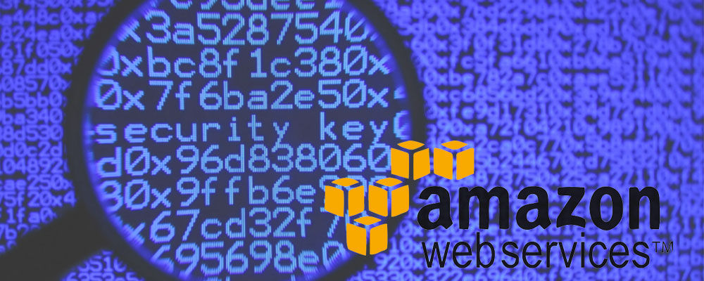 AWS logo security key