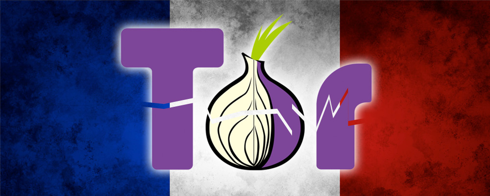Tor and French flag