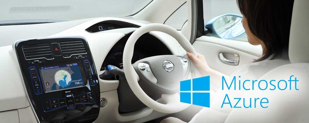 Nissan LEAF Microsoft Azure