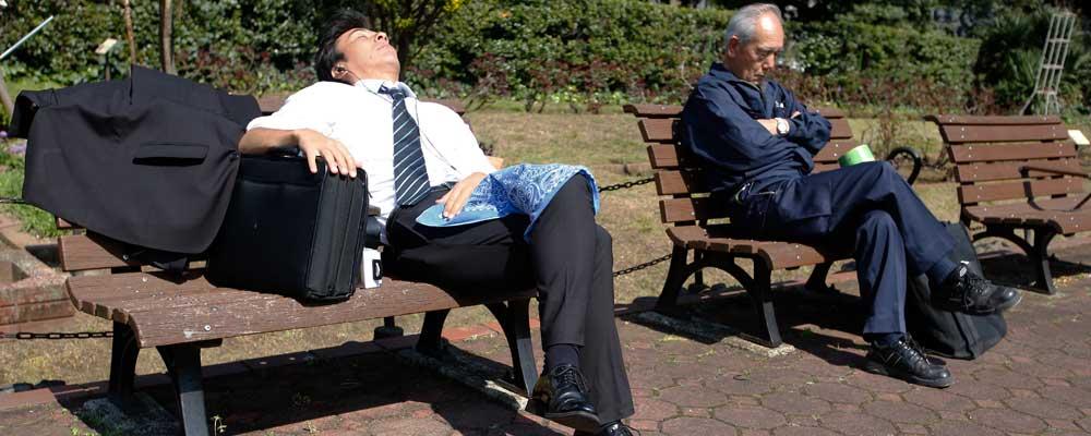 Japan workplace stress