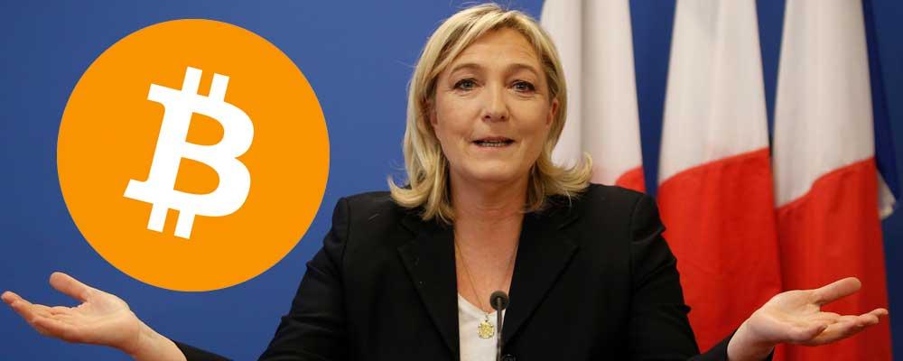 Bitcoin Marine Le Pen