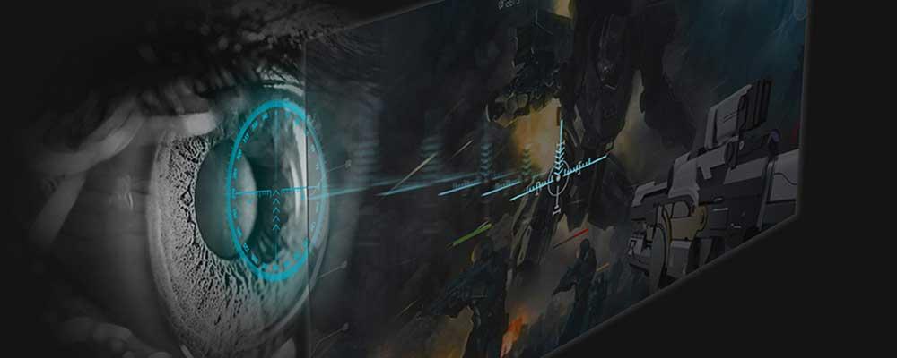 Acer Tobii eye-tracking