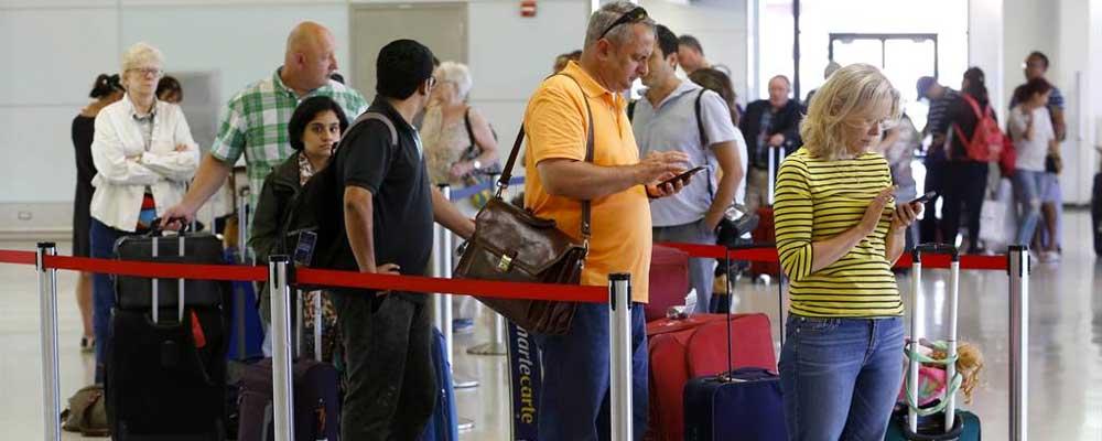 Delta Airlines queues