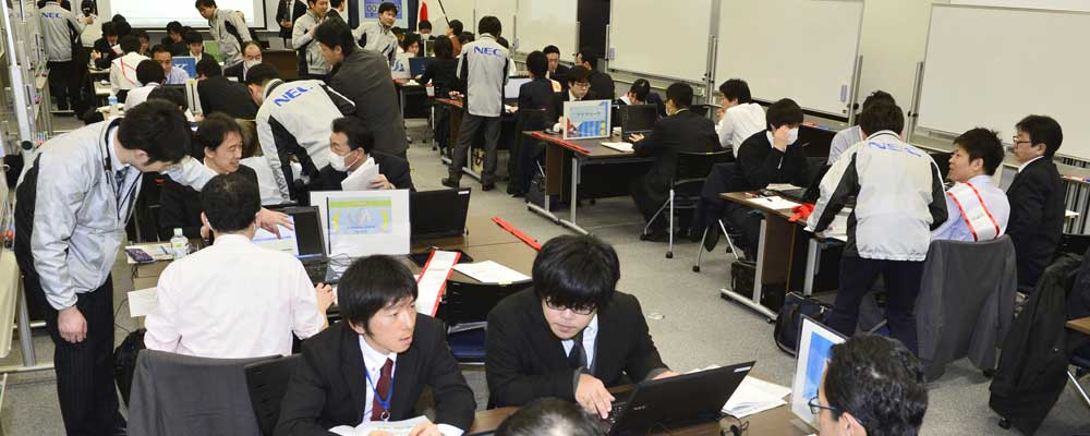 Japan cyberattack training