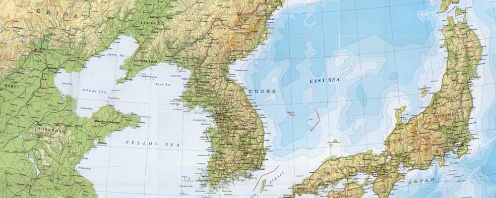Korea East Sea