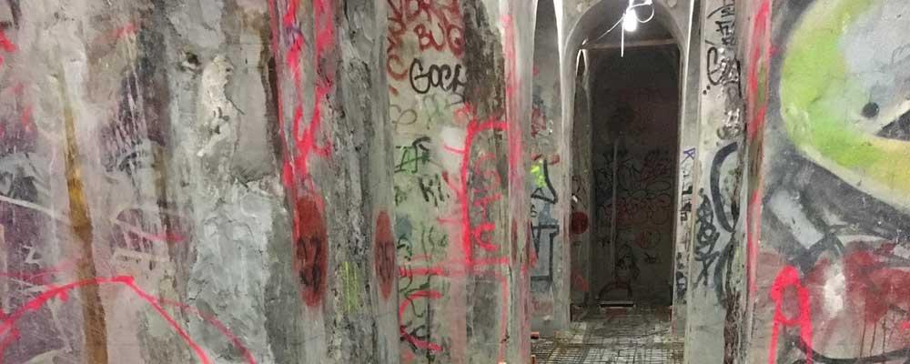 Paris nuclear fallout shelter