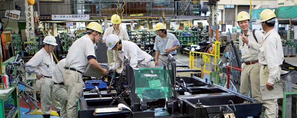 Hiatchi manufacturing