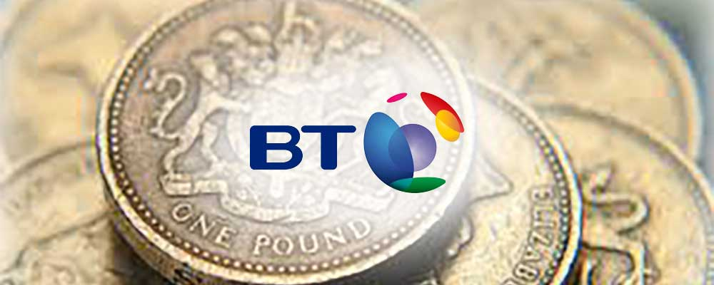 BT pounds
