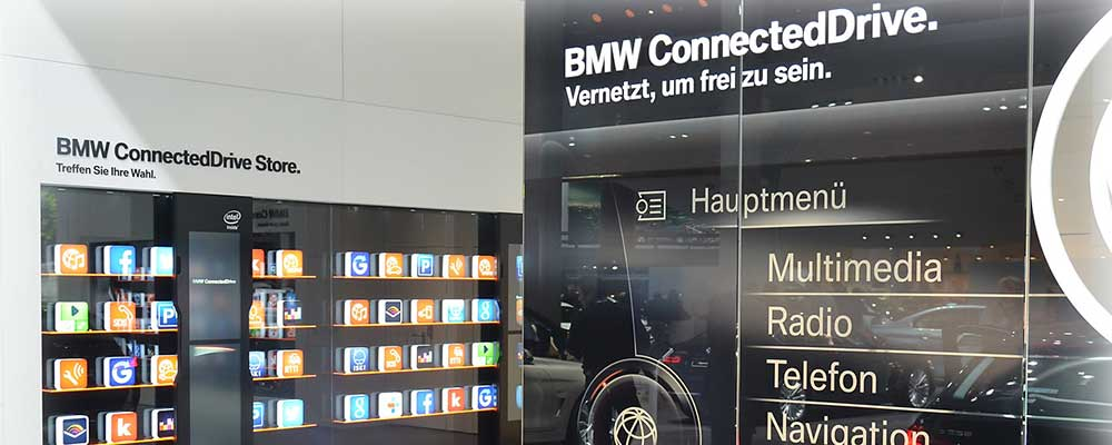 BMW connected car
