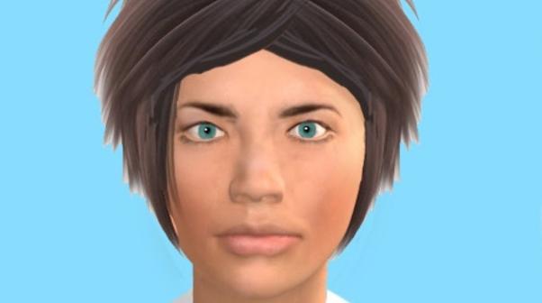 Human-like faces at checkout