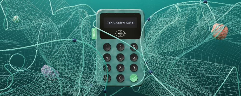 Payment card reader made from recycled ocean plastics launched