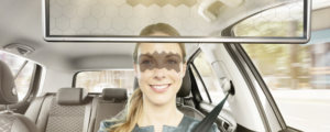 AI-powered sun visor